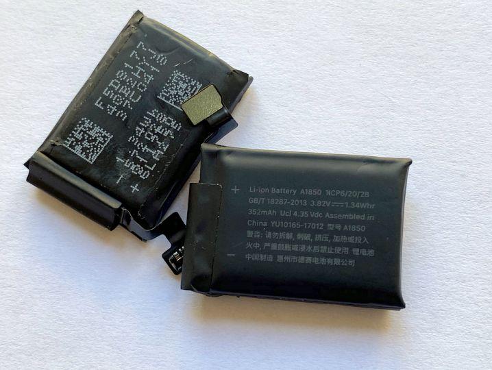 Батерия за Apple Watch 3 42mm LTE A1850