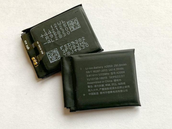 Батерия за Apple Watch 4 44mm A2059