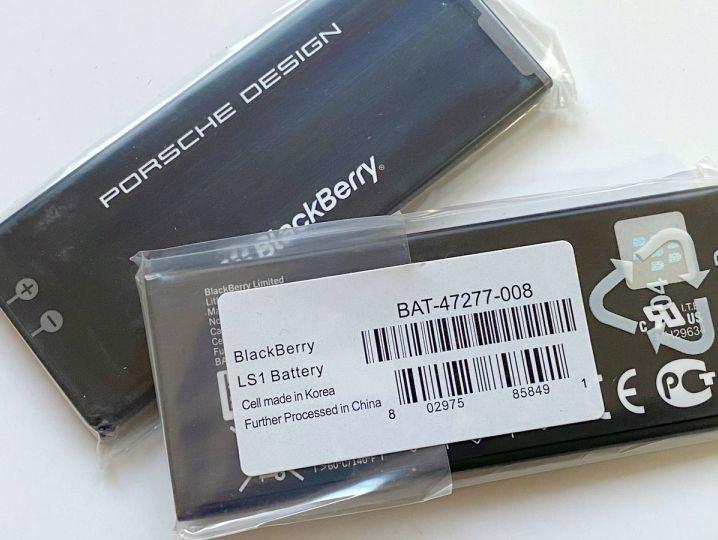 Батерия за BlackBerry Porsche Design P9982